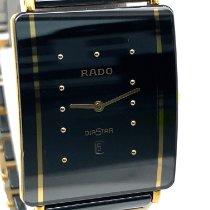 Rado Diastar Сталь 27mm Черный Без цифр
