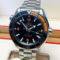 Omega Seamaster Planet Ocean Сталь 43.5mm Черный Aрабские