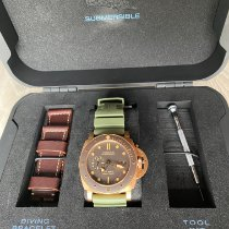 Panerai Luminor Submersible Bronze 47mm Brun Sans chiffres France, Sant Pere de Ribes