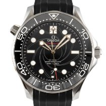 Omega Seamaster Diver 300 M Gold/Steel 42mm Black