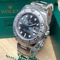 Rolex Yacht-Master 37 Steel 37mm Grey No numerals United Kingdom, Wilmslow