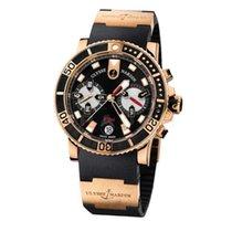 Ulysse Nardin Maxi Marine Diver 8006-102-3A/92 Очень хорошее Pозовое золото 42.7mm Автоподзавод