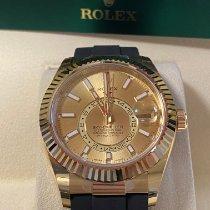 Rolex Sky-Dweller Oro giallo 42mm Champagne Senza numeri Italia, Caserta