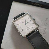 NOMOS Tetra 27 Steel White Arabic numerals