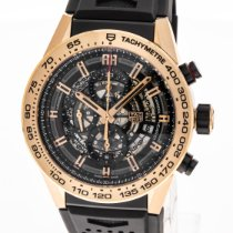 TAG Heuer new Automatic Small seconds 45mm Rose gold Sapphire crystal