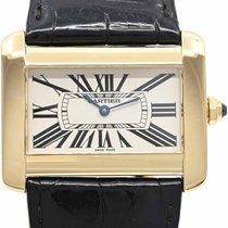 Cartier 2602 Yellow gold 2005 Tank Divan 38mm pre-owned
