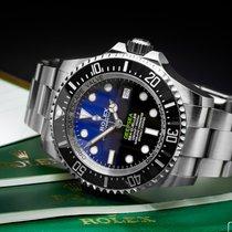 Rolex Sea-Dweller Deepsea Stal 44mm Niebieski Bez cyfr Polska, Warszawa