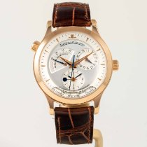Jaeger-LeCoultre Red gold Automatic Silver No numerals 38mm new Master Geographic