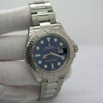 Rolex (ロレックス) ヨットマスター 40 プラチナ 40mm ブルー 文字盤無し
