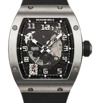 Richard Mille White gold Automatic Transparent Arabic numerals 38mm new RM 005