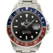 Rolex 16700 Steel 1996 GMT-Master 40mm pre-owned