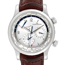 Jaeger-LeCoultre Master World Geographic Steel Silver