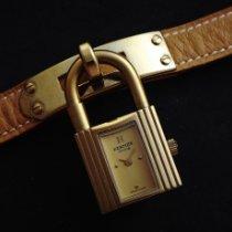 Hermès Kelly Stahl 21mm Gold