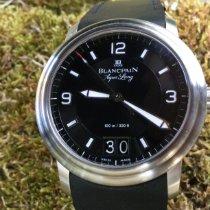 Blancpain Léman Steel 40mm Black Arabic numerals