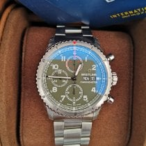 Breitling Aviator 8 Steel Green Arabic numerals United Kingdom, Swadlincote