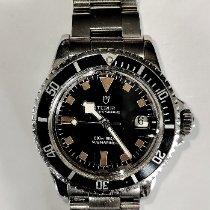 Tudor Submariner Steel Black No numerals