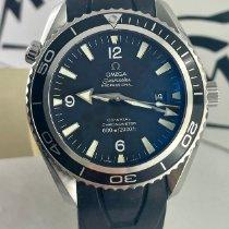 Omega Seamaster Planet Ocean Steel Black