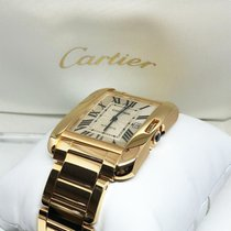 Cartier Tank Anglaise Yellow gold 47mm Silver UAE, Abu Dhabi