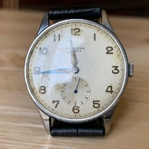 Universal Genève Steel 35mm Manual winding pre-owned United States of America, New Jersey, Upper Saddle River