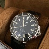 Oris Aquis Date Steel 43.5mm Black No numerals United States of America, Massachusetts, Buzzards Bay