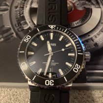 Oris Aquis Date Steel 43.5mm Black No numerals United States of America, Massachusetts, Buzzards Bay