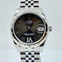 Rolex Белое золото Автоподзавод Коричневый 31mm новые Lady-Datejust