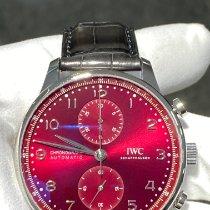 IWC Portuguese Chronograph Acier 41mm Rouge Arabes Belgique, Antwerpen