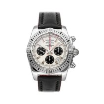 Breitling Chronomat 44 Airborne Steel 44mm Silver No numerals