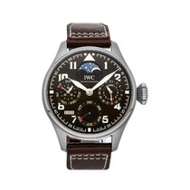 IWC Big Pilot Steel 46.2mm Brown Arabic numerals United States of America, Pennsylvania, Bala Cynwyd