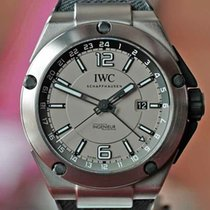 IWC Titanium Automatic 45mm pre-owned Ingenieur Dual Time