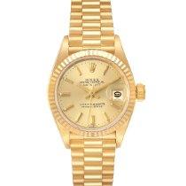 Rolex Lady-Datejust 69178 Очень хорошее Желтое золото 26mm Автоподзавод