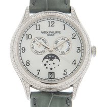 Patek Philippe Annual Calendar White gold 38mm Mother of pearl Arabic numerals