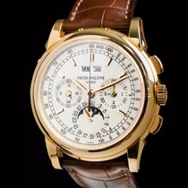 Patek Philippe Perpetual Calendar Chronograph Rosa guld 40mm Sølv