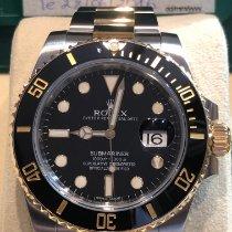 Rolex Submariner Date Or/Acier 40mm Noir Sans chiffres Belgique, Bruxelles
