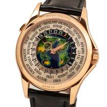 Patek Philippe World Time Roségold 39.5mm Silber Arabisch Deutschland, München