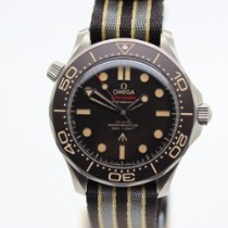 Omega Seamaster Diver 300 M Titanium 42mm Brown No numerals