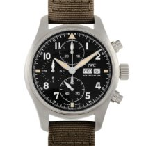 IWC Pilot Spitfire Chronograph Steel 41mm Black United States of America, Pennsylvania, Southampton