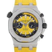 Audemars Piguet Royal Oak Offshore Diver Chronograph Acero 42mm Amarillo