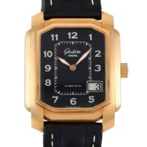 Glashütte Original Rose gold Automatic Black Arabic numerals 45mm pre-owned Senator Karrée