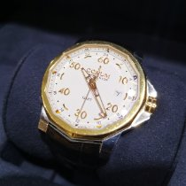 Corum Admiral's Cup GMT 44 Acero y oro 44mm Blanco