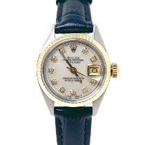 Rolex Oyster Perpetual Lady Date Steel 26mm Mother of pearl No numerals United States of America, California, Sylmar