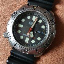 Citizen Promaster Titanium 40mm Black No numerals