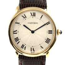Cartier Ronde Louis Cartier Yellow gold 33.5mm Silver