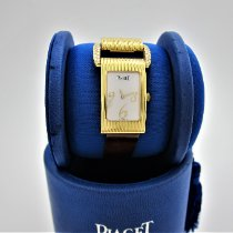 Piaget Protocole Желтое золото 17mm Перламутровый Aрабские