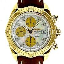 Breitling Chronomat Evolution Gelbgold 43.7mm Perlmutt Keine Ziffern