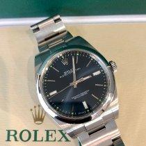 Rolex Oyster Perpetual 39 Acciaio 39mm Blu Senza numeri Italia, Roma