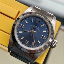 Rolex Oyster Perpetual 26 Stahl 26mm Blau