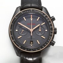 Omega Speedmaster Professional Moonwatch Cerámica 44mm Negro Sin cifras