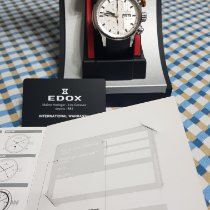 Edox Chronorally Steel White