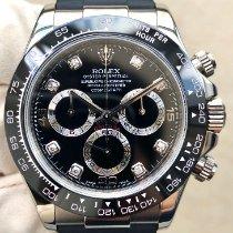 Rolex Daytona White gold 40mm Black